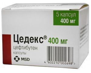 De droguri Tsedeks în pachet - antibiotice moderne