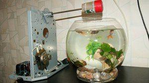 Autocuplu pentru acvariu. Pro și contra de jgheaburi pentru pești