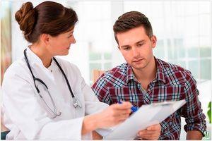 Consultarea unui medic - probleme de sex masculin