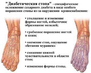 Piciorul diabetic - caracteristici