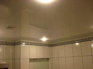 A fi sau nu a fi un tavan întins în baie: comentarii utilizatorilor