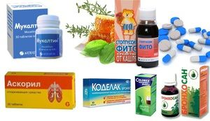 Descrierea medicamentelor pentru tratamentul tusei la copii