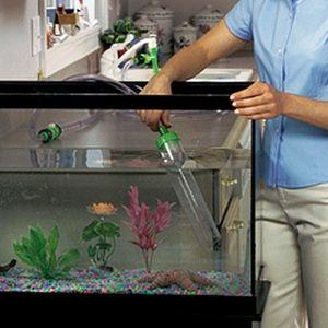 Curățarea acvariului