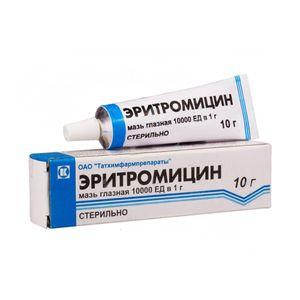 Cum se utilizează unguent de eritromicină