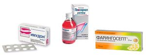 Tratamentul laringitei acute cu medicamente