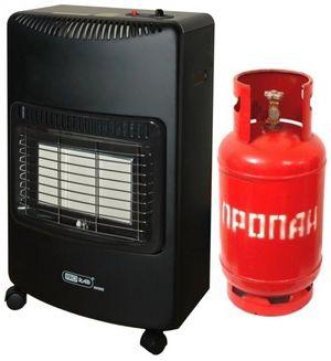 Arzătoare cu gaz pentru încălzire: utilizarea unui încălzitor pentru o reședință de vară