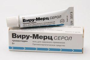 Vera-Merz Serol pentru tratamentul herpesului