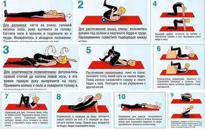 Exerciții pentru sciatică - terapie de exerciții
