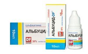 Albucid - dozaj, instrucțiuni, indicații de utilizare