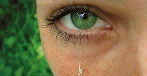 Teardrop lichid sub formă de picături