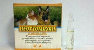 Instrucțiunile de utilizare a medicamentului sunt neostomozan în medicina veterinară