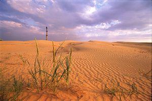Zona naturală a deșertului