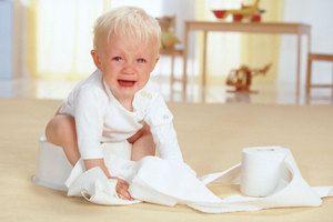Copilul plânge
