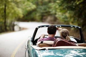 Du-te cu mașina pe drum într-un vis