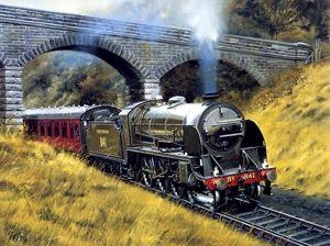 Pentru a vedea calea ferată într-un vis