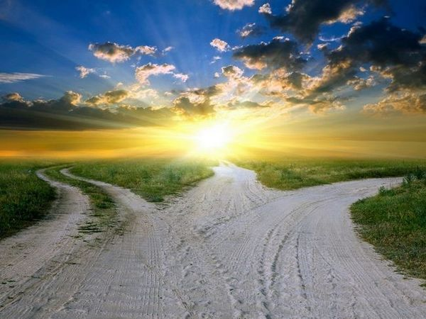 Pentru a vedea drumul într-un vis