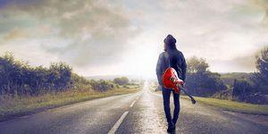 Urcați pe autostradă într-un vis
