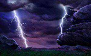 Furtuna în timpul unei furtuni poate avertiza de dezamăgire