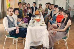 Într-un vis, toți rudele s-au adunat la masă?