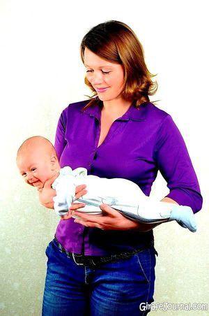 Cum să purtați corect noul copil nou