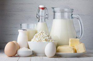 Produse lactate pentru dinti