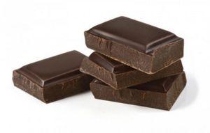 Bucăți de ciocolată pentru un câine