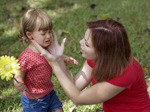 Cum de a calma un copil plâns