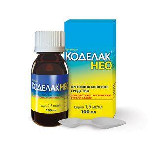 Kodelak: instrucțiuni privind utilizarea medicamentului cu codeină