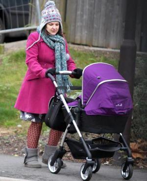 Prima plimbare cu nou-născutul