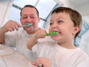 Curățarea dinților pentru copii