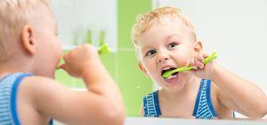 Periajul dinților pentru copii