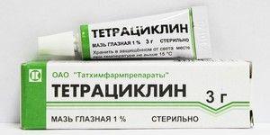 Tetraciclină cu conjunctivită