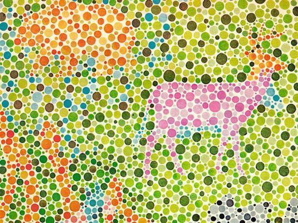 Metoda de determinare a tipului de orbire a culorii