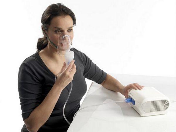 Faceți inhalări cu un nebulizator