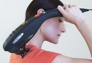 Metoda de efectuare a masajului terapeutic al gâtului cu ajutorul masajilor
