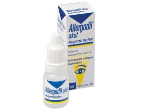 Creează Allergoodil cu Conjunctivită