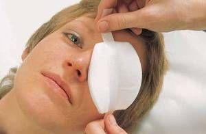 Lezarea mecanică a ochilor - primul ajutor