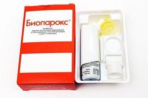 Bioparoxul este un antibiotic local pentru dureri în gât
