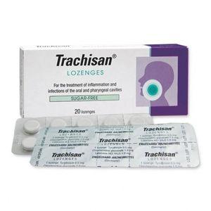 Tablete pentru resorbția traheelor cu durere în gât