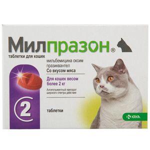 Tablete de Milprazone - instrucțiuni de utilizare