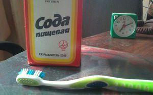 Îmi pot spăla dinții cu sifon?