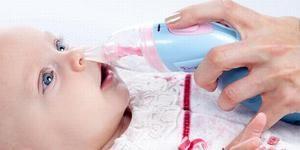 Cum se clătește nasul cu copilul