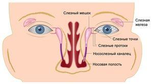 Obstrucționarea canalului lacrimal la nou-născut