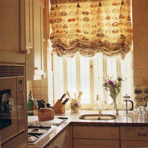 Perdele romane în bucătărie