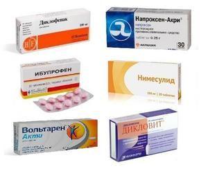 Lista de medicamente pentru tratamentul osteocondrozei cervicale în timpul unei exacerbări