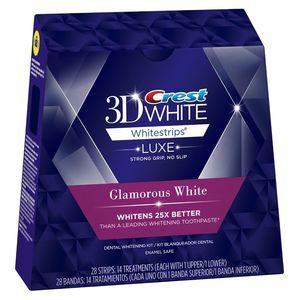 Crest trei D Whitestrips alb