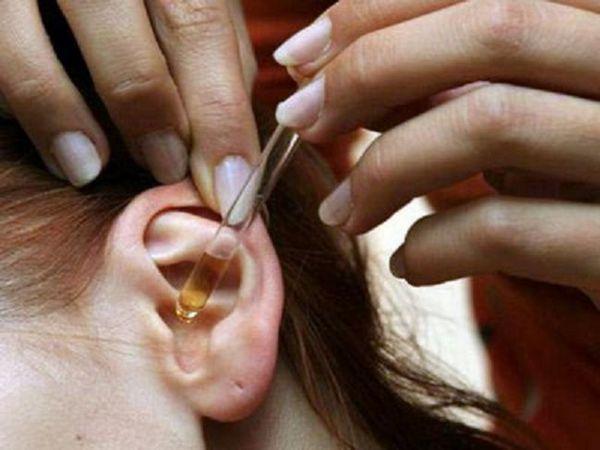 Tratamentul otitei - picături în urechi