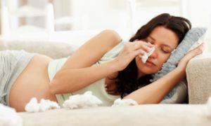 De ce noaptea există un sânge dintr-un nas la o femeie însărcinată