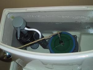 Deteriorarea cilindrului vasului toaletei