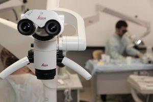 Aplicarea unui microscop